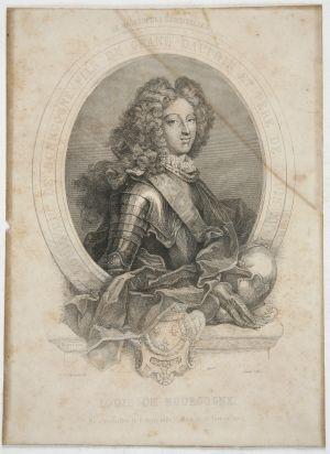 MUO-004715: Louis de Bourgogne: grafika