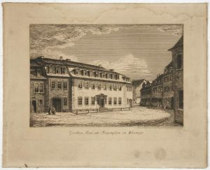 MUO-025584: Goethes Haus am Frauenplan in Weimar: grafika