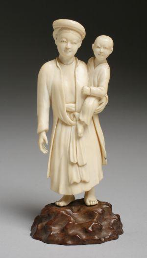 MUO-017221: Kineskinja s djetetom: figura