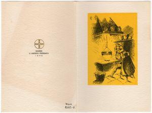 MUO-008305/06: Jugefa k.d.: novogodišnja čestitka
