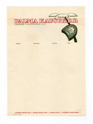 MUO-008307/20: PALMA KAUČUK D.D.: listovni papir