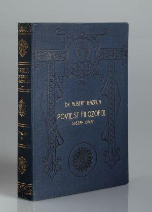 MUO-010218: Dr. Albert Bazala Povijest filozofije svezak drugi: korice za knjigu