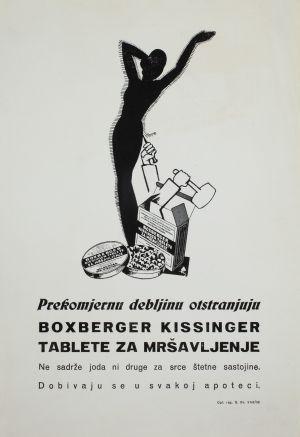 MUO-008302/11: Boxberger kissinger tablete: letak