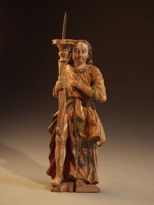 MUO-017477/01: Anđeo lučonoša: kip