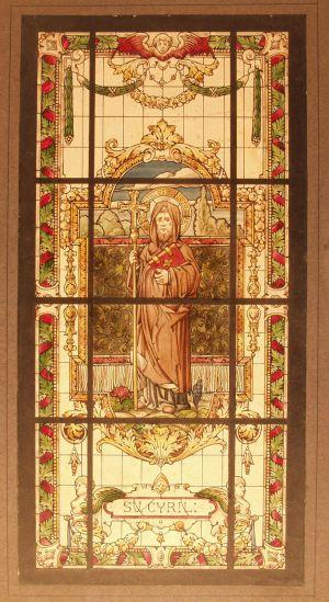 MUO-029400: Sv. Ćiril: skica za vitraj