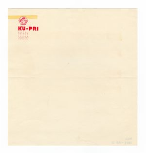 MUO-008307/39: KU-PRI kućni pribor: listovni papir