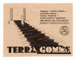 MUO-008302/01: Terra Gomme: novinski oglas
