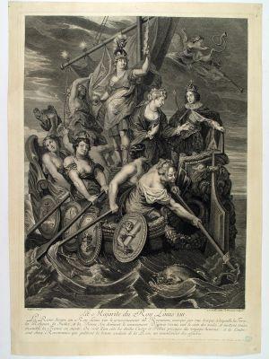 MUO-014717: Punoljetnost kralja Luja XIII: grafika