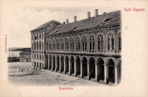 MUO-013346/61: Split - Prokurative: razglednica