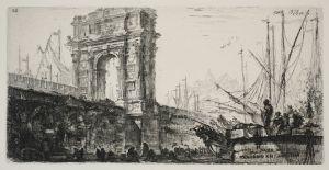 MUO-048467/26: Il Arco di Traiano in Ancona: grafika