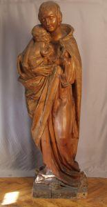 MUO-013821: Bogorodica s djetetom: kip