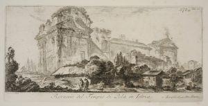 MUO-048467/22: Rovescio del Tempio di Pola in Istria: grafika
