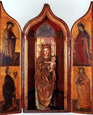 MUO-002656: Navještenje Marijino: oltar