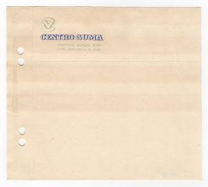 MUO-008307/62: CENTRO GUMA trgovina gumene robe: listovni papir