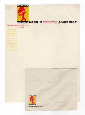 MUO-008307/43: DIVOVA VODA AQUA GIGANTA: listovni papir