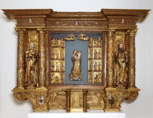 MUO-014999: Oltar sv. Marije: oltar