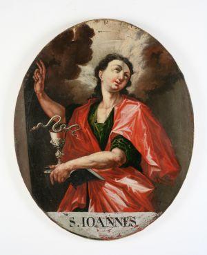 MUO-004555: Sv. Ivan Evanđelist: slika