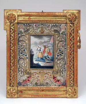 MUO-016275: Sv. Barbara: posvetna slika