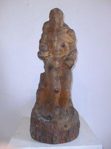 MUO-013740: Akt muški - skica: kip
