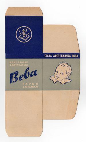 MUO-008303/12: BEBA sapun za djecu: kutija