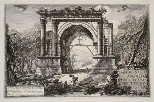 MUO-048467/05: Veduta dell'Arco fabbricato in onore d'Augusto: grafika