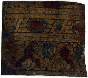 MUO-031422/02: fragment dekorativne kože