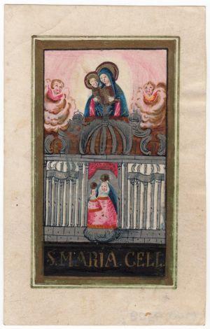 MUO-009308/02: S Maria Cell: sveta sličica