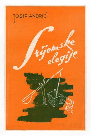 MUO-008308/08: Josip Andrić SRIJEMSKE ELEGIJE: naslovnica