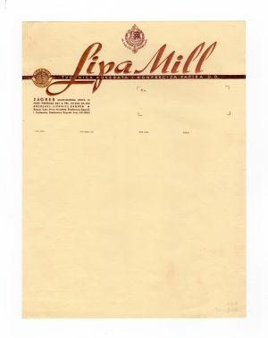 MUO-008307/25: Lipa Mill tvornica kuverata i konfekcija papira d.d.: listovni papir