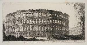 MUO-048467/12: Anfiteatro Flavio detto il Colosseo in Roma: grafika
