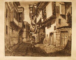 MUO-019545: Ulica u Bosni: grafika