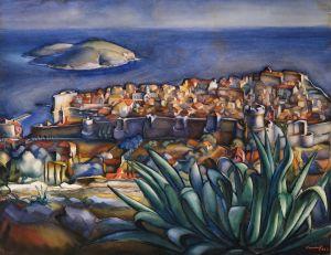 MUO-014745: Dubrovnik: slika