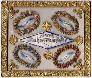 MUO-005683: Zum Nahmensfeste: čestitka