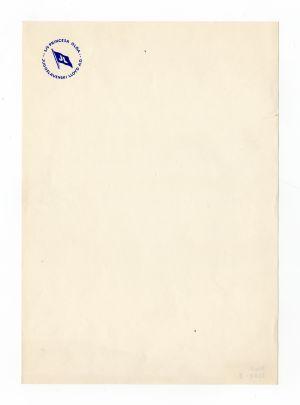 MUO-008307/08: s/s Princesa Olga JL Jugoslavenski LLoyd: listovni papir