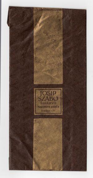 MUO-008303/02: JOSIP SZABO: vrećica