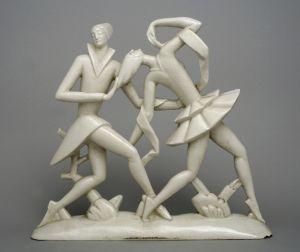 MUO-025193: Pierrot i Colombina: figuralna grupa