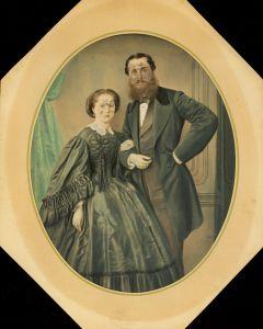 MUO-014118: Portret bračnog para: fotografija