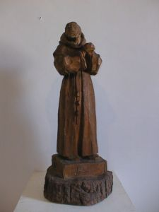 MUO-013805: redovnik: kip