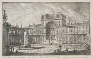 MUO-025391: Giardino e Casino Pontificio di Belvedere: grafika