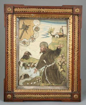 MUO-004740: Stigmatizacija sv. Franje Asiškog: pobožna slika