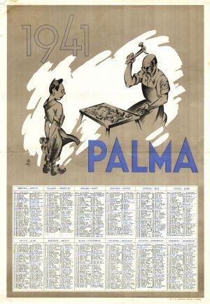 MUO-008305/30: PALMA 1941: kalendar