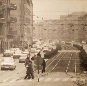 MUO-042412: Pogled niz Zvonimirovu ulicu: fotografija