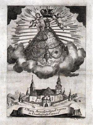 MUO-005655: Majka Božja Jeruzalemska: grafika