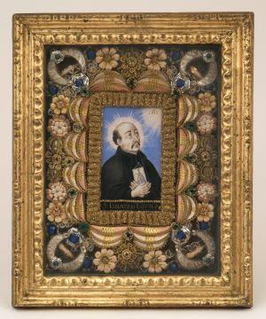 MUO-004601: Sv. Ignacije Lojola: relikvijar