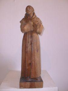 MUO-013800: sv. Franjo Asiški: kip