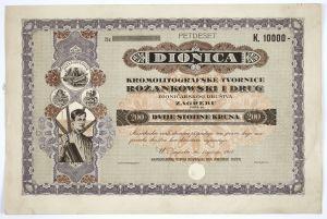 MUO-023271: Dionica kromolitografske tvornice Rožankowski i drug: dionica