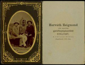 MUO-008679/15: Vladimir Simić, S. Šrepl i D. Šrepl: fotografija