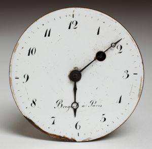 MUO-002458: mehanizam, brojčanik džepnog sata