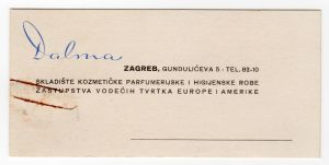 MUO-008307/24: Dalma: poslovna karta