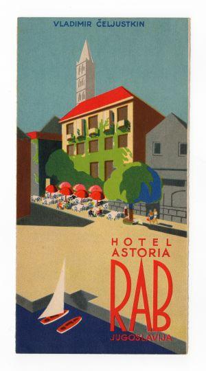 MUO-008306/11: Hotel Astoria RAB: naslovna stranica